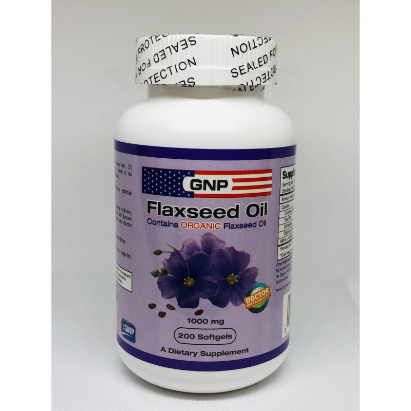 Flaxseed Oil (Organic)